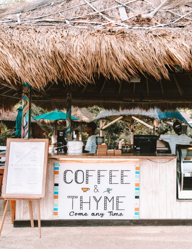 things to do gili air coffee
