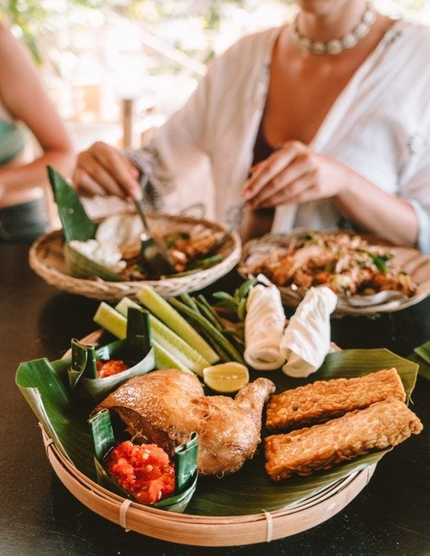 things to do gili air spa cooking class food