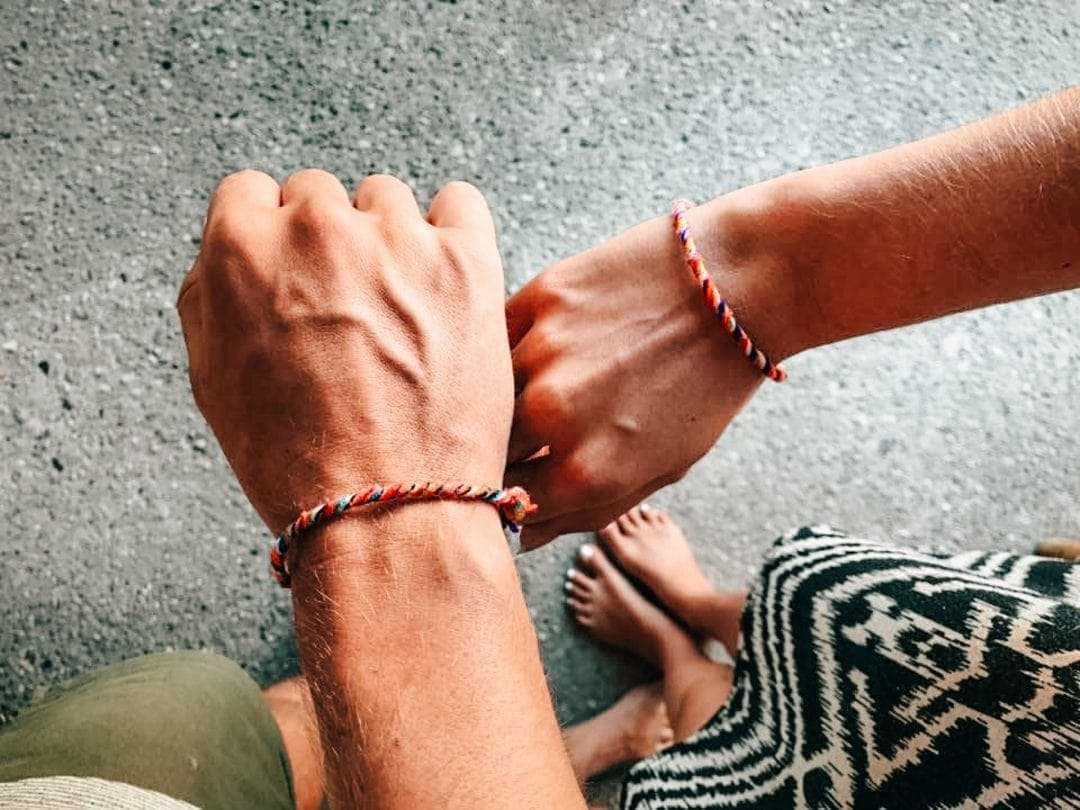 bali stay with locals bracelet