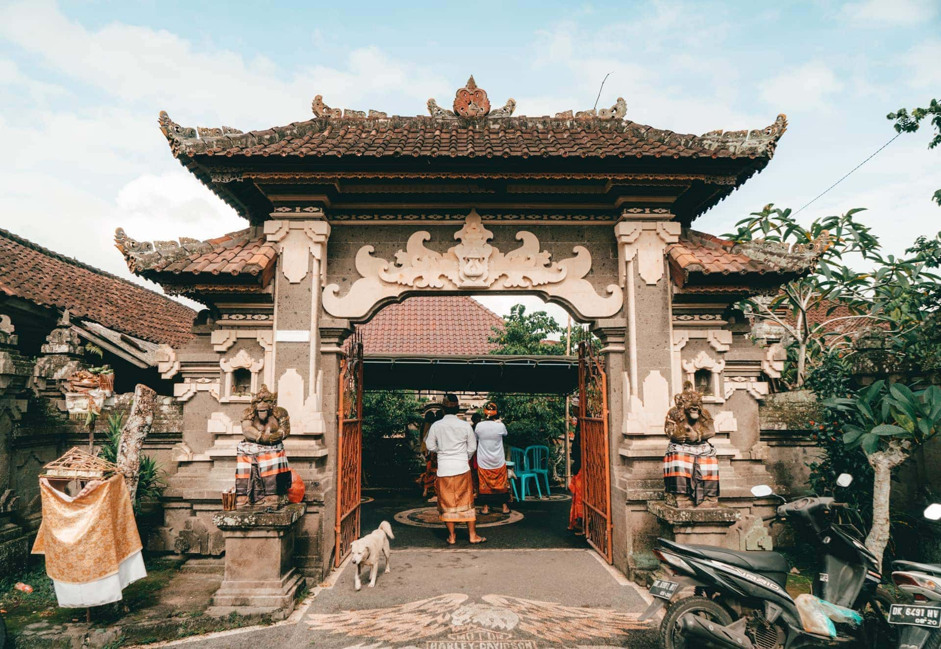 bali stay with locals house