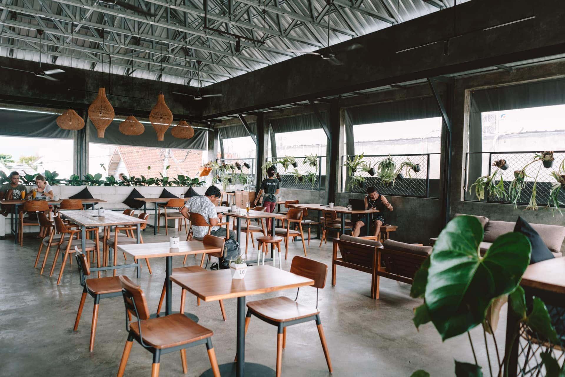 best cafes work canggu bali duatiga