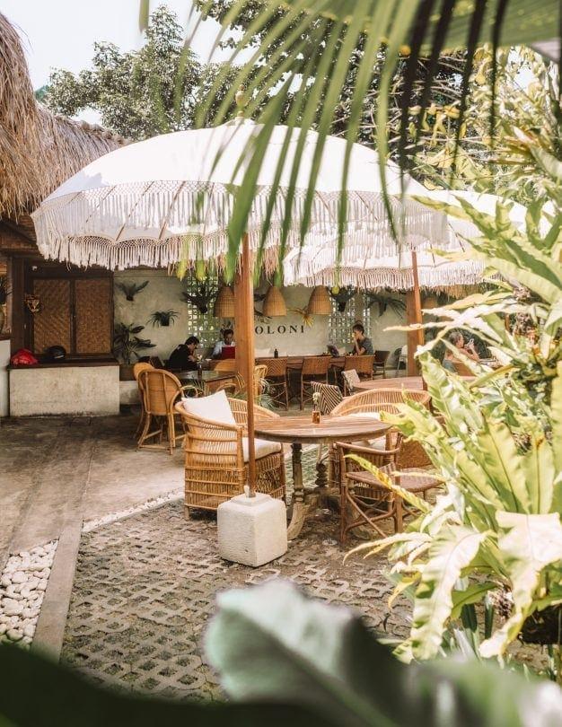 best restaurants canggu koloni garden