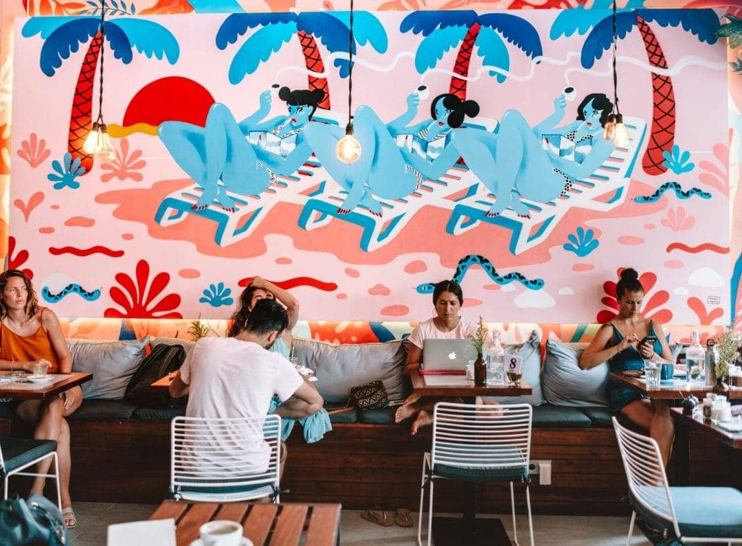 best restaurants canggu ruko cafe