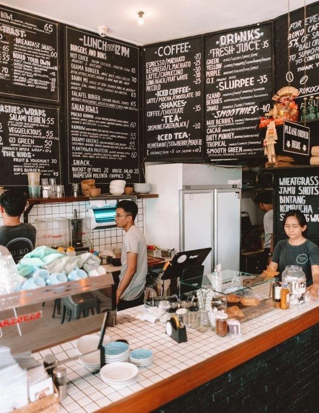 best restaurants canggu ruko menu