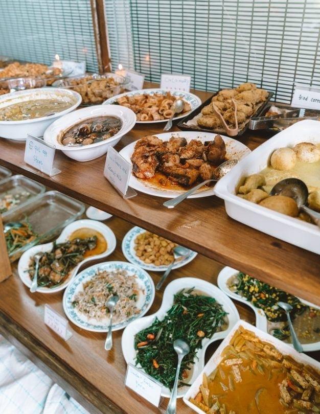 best restaurants canggu warung ambara food