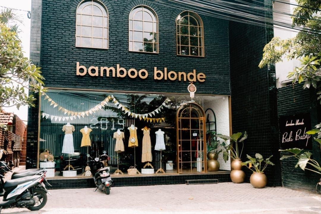 shopping canggu bali bamboo blonde store