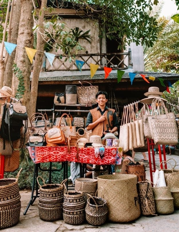 shopping canggu bali la laguna gypsy market bags