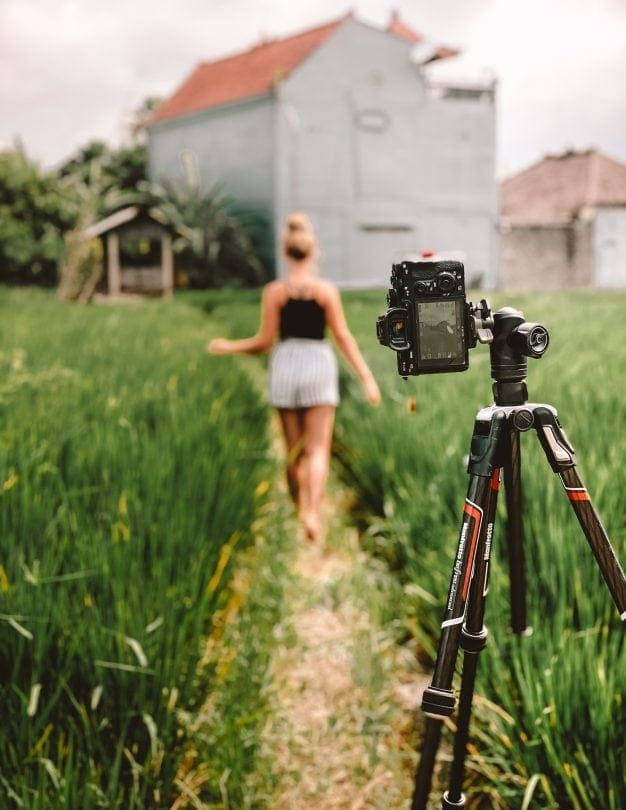 travel photography camera Salt in our hair tripod