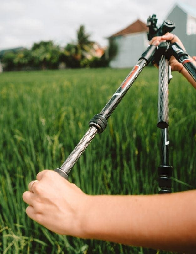 travel photography camera Salt in our hair tripod system