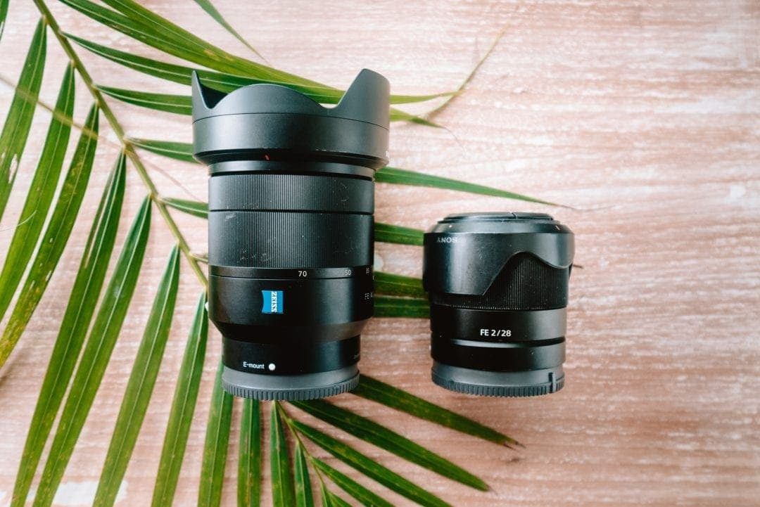 travel photography camera Salt in our hair lenses