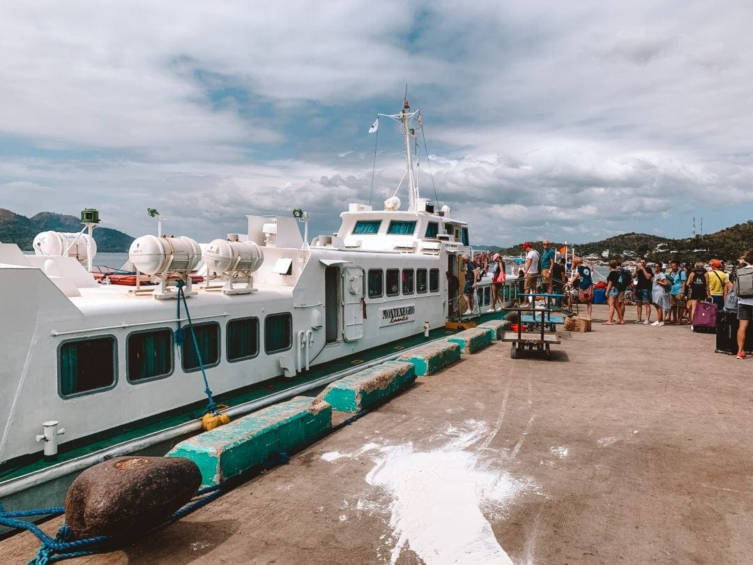 things to do coron philippines ferry dock