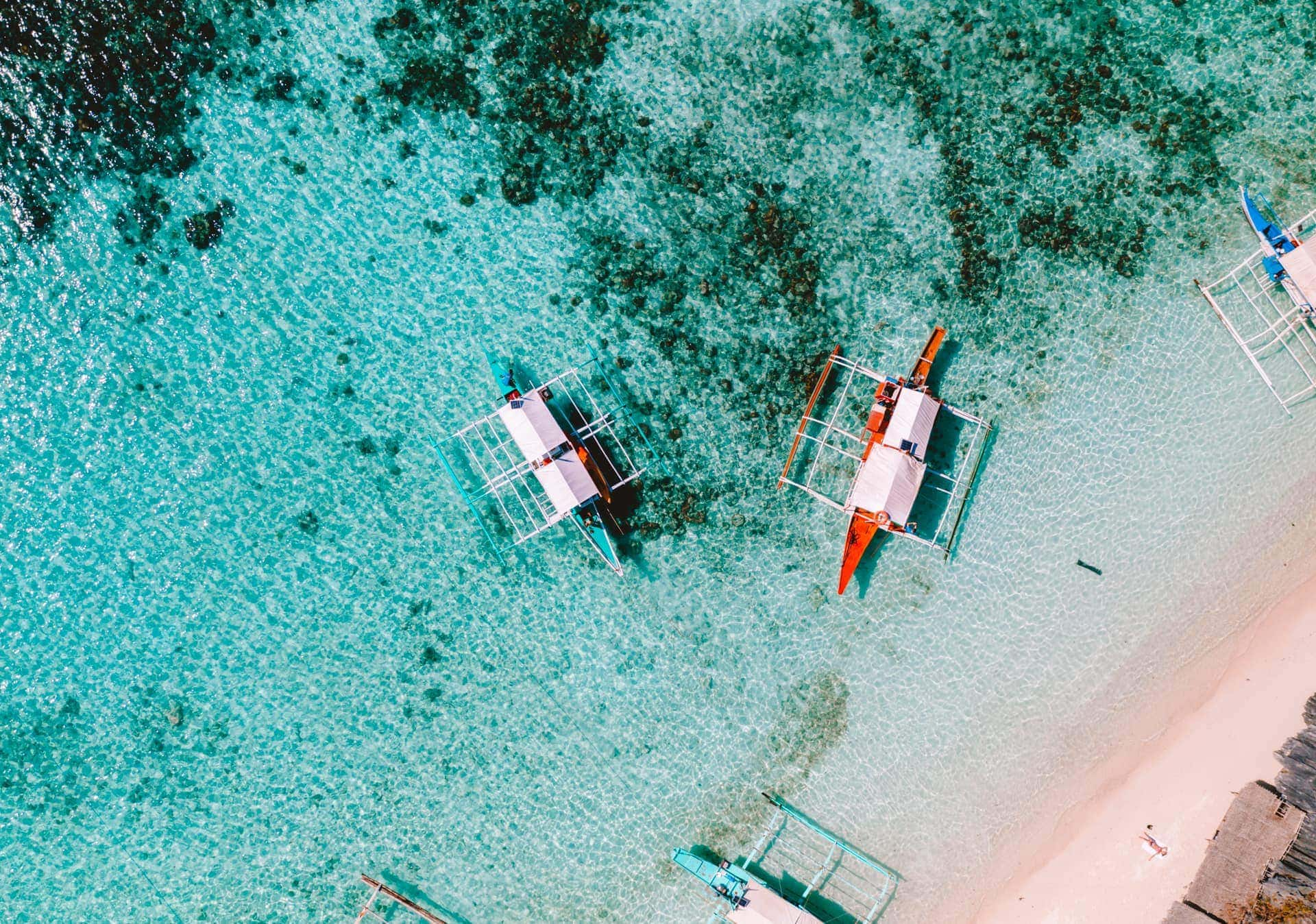 things to do coron philippines boat drone