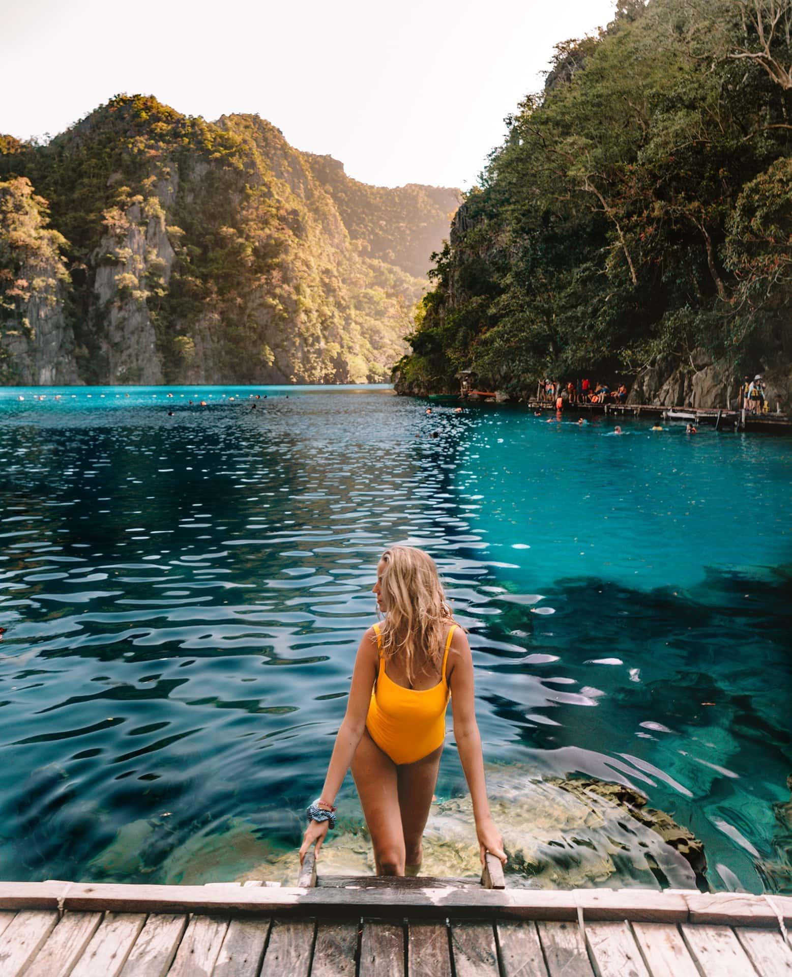 things to do coron philippines kayangan lake