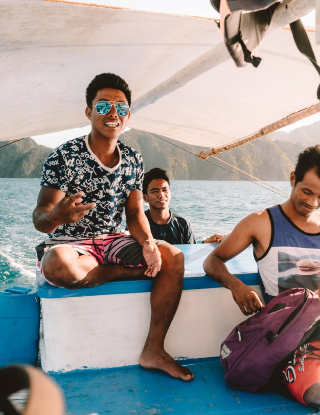 things to do coron philippines island hopping crew