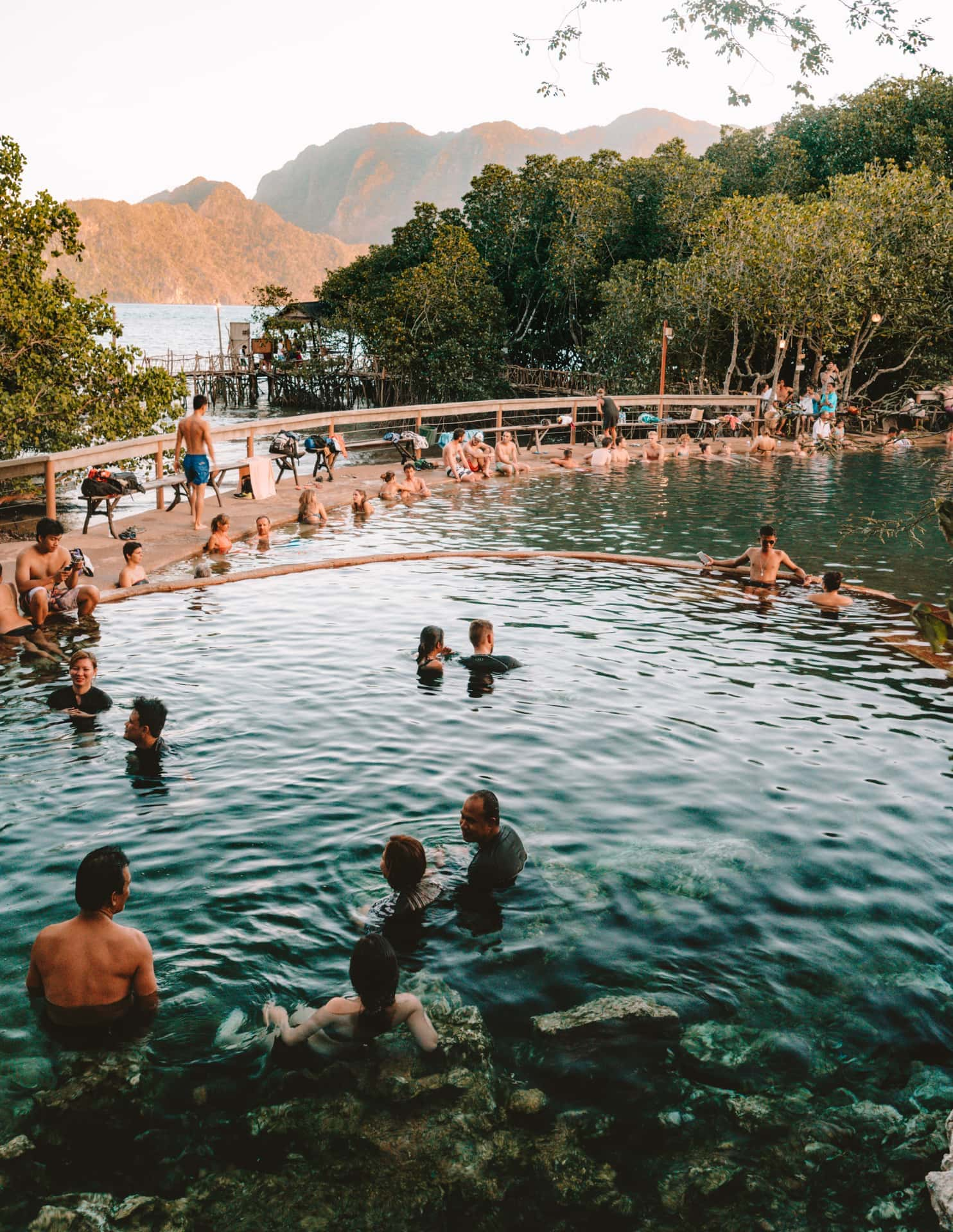 things to do coron philippines maquinit hot spring