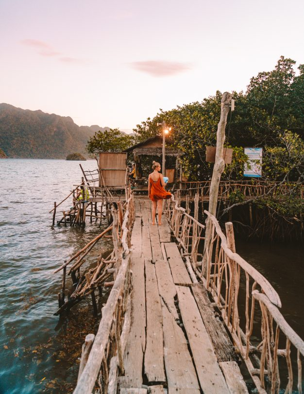 things to do coron philippines hot spring walk