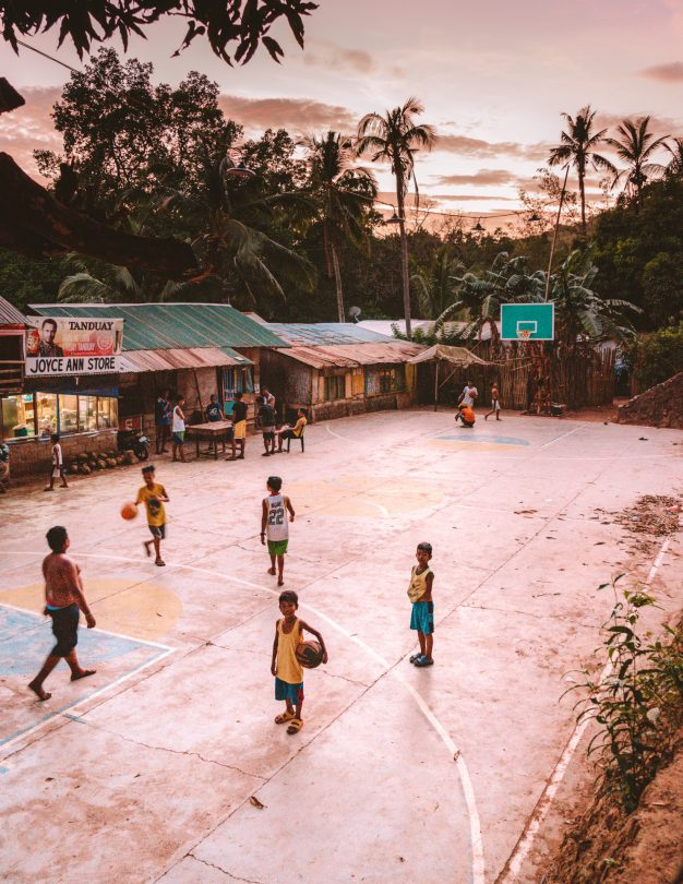 things to do coron philippines basketball