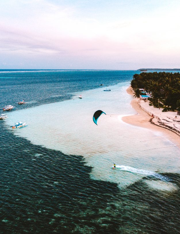 things to do siargao kite surf