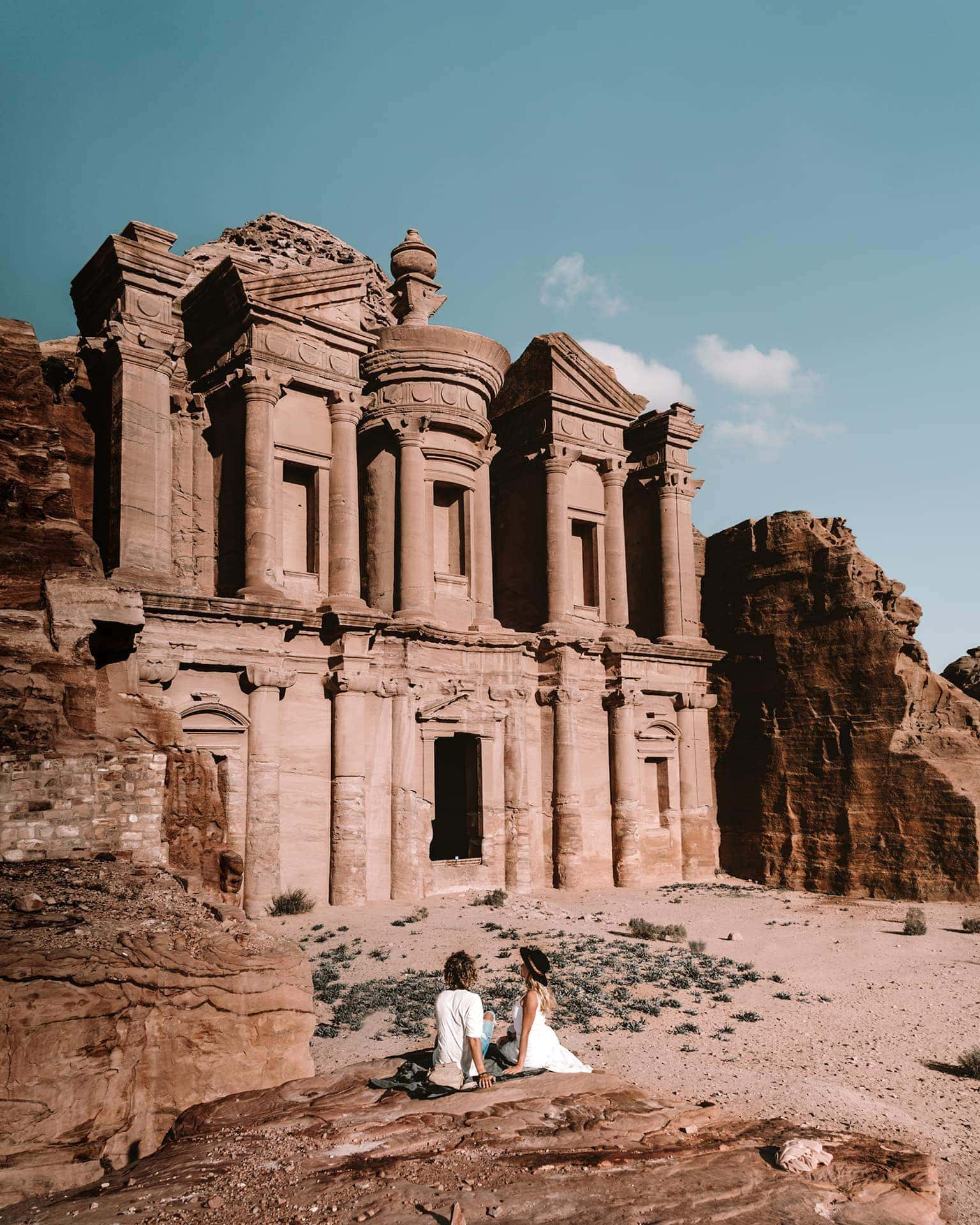 Monastery petra jordan tips