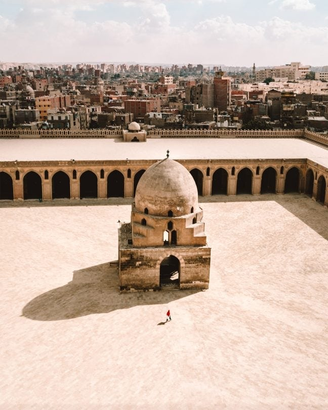 Mosque of Ibn Tulun top view