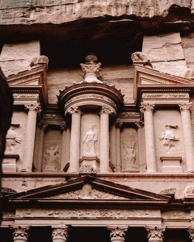 Treasury detail petra jordan