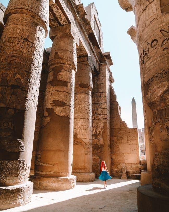 egypt travel route guide luxor
