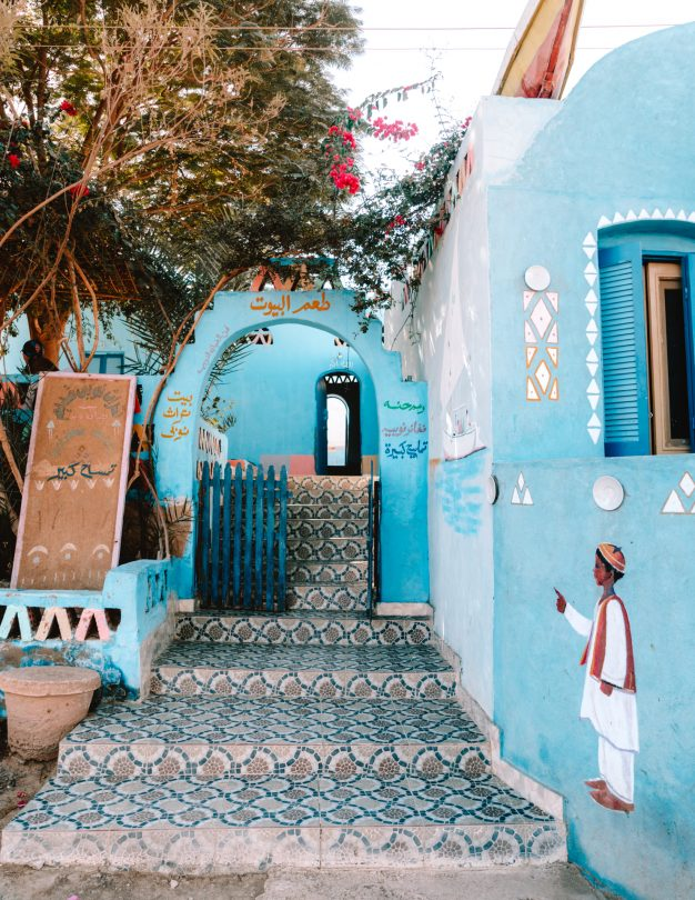 picturesque nubian village Egypt