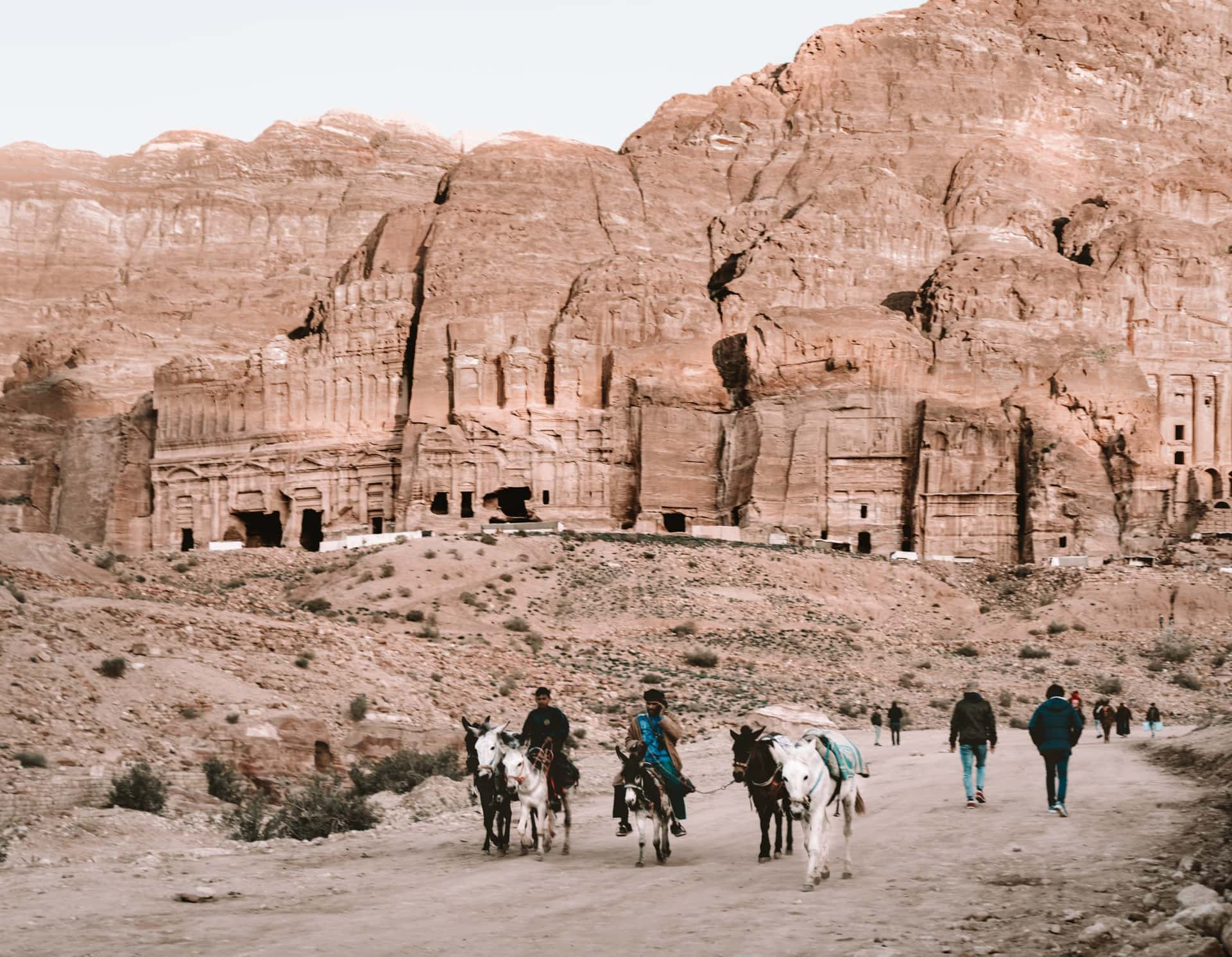 petra jordan hiking trail