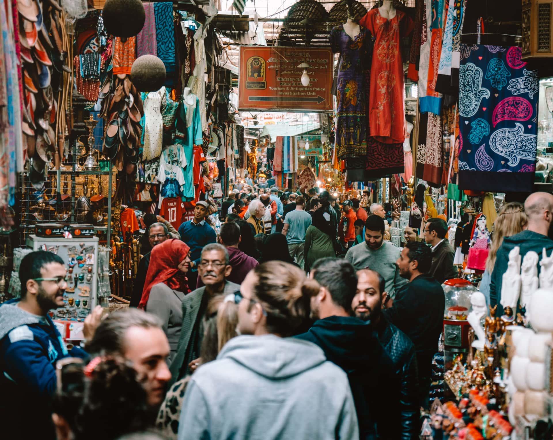things to do Cairo Khan El-Khalili souk market
