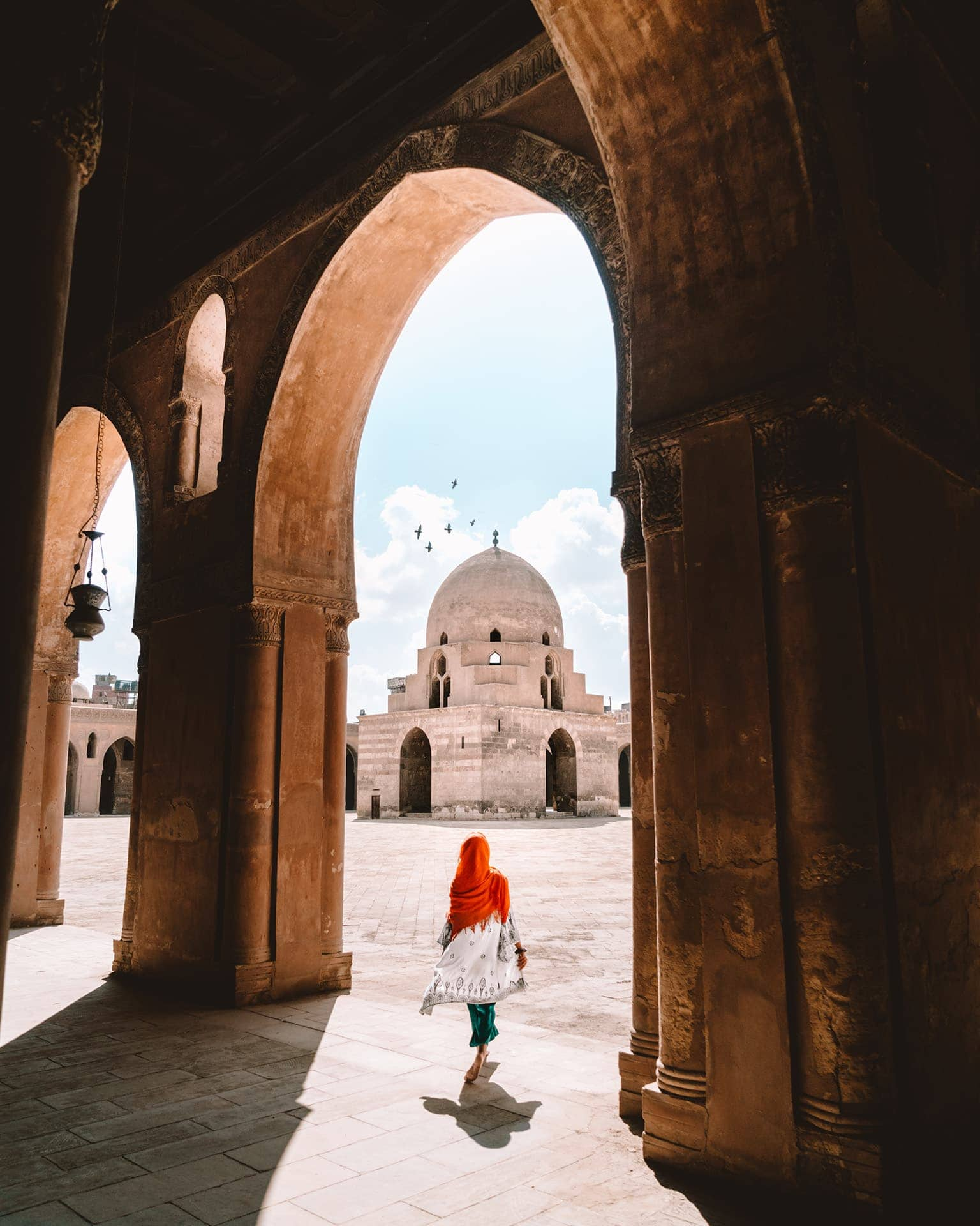 things to do in Cairo Mosque of Ibn Tulun