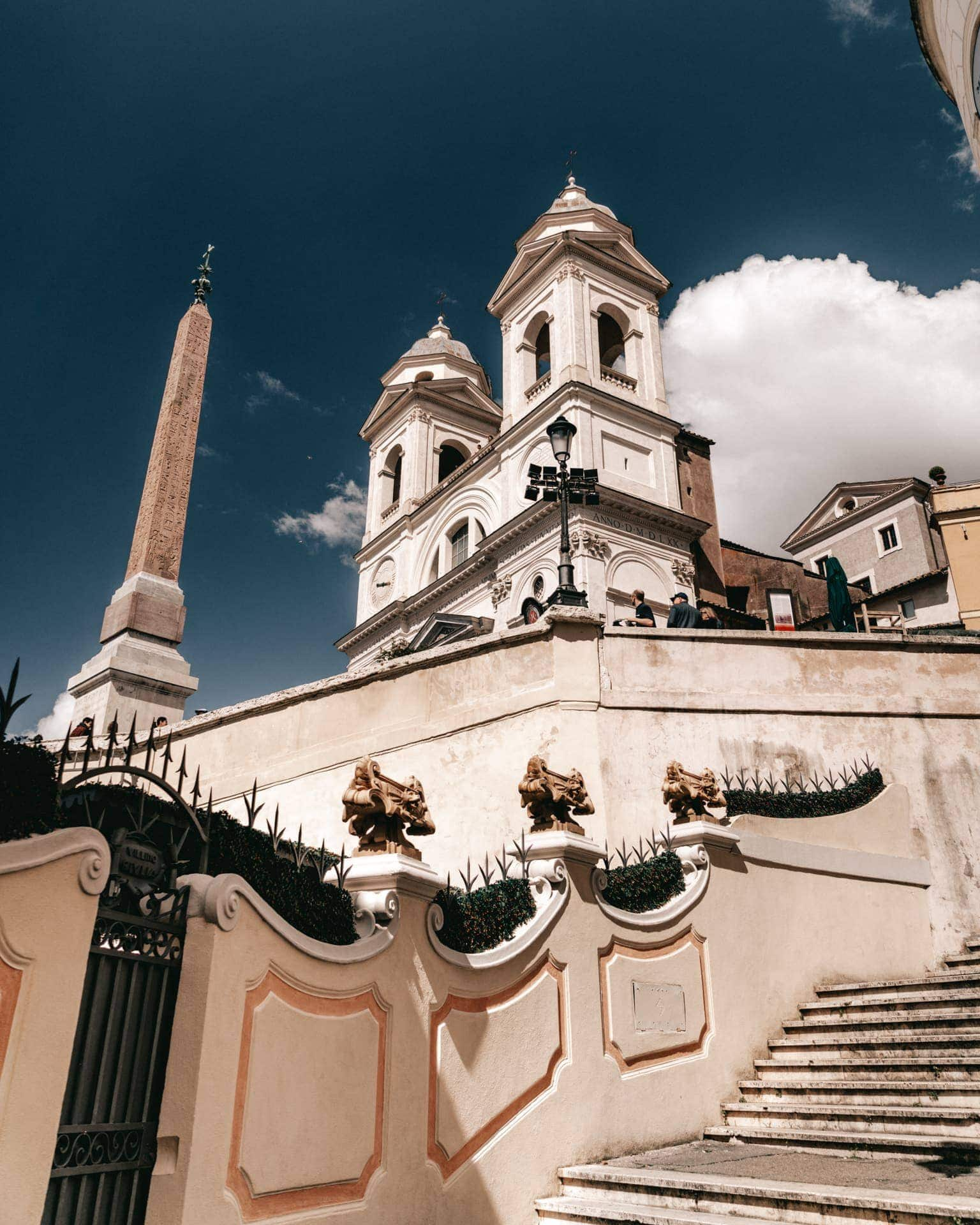 things to do rome Spanish steps