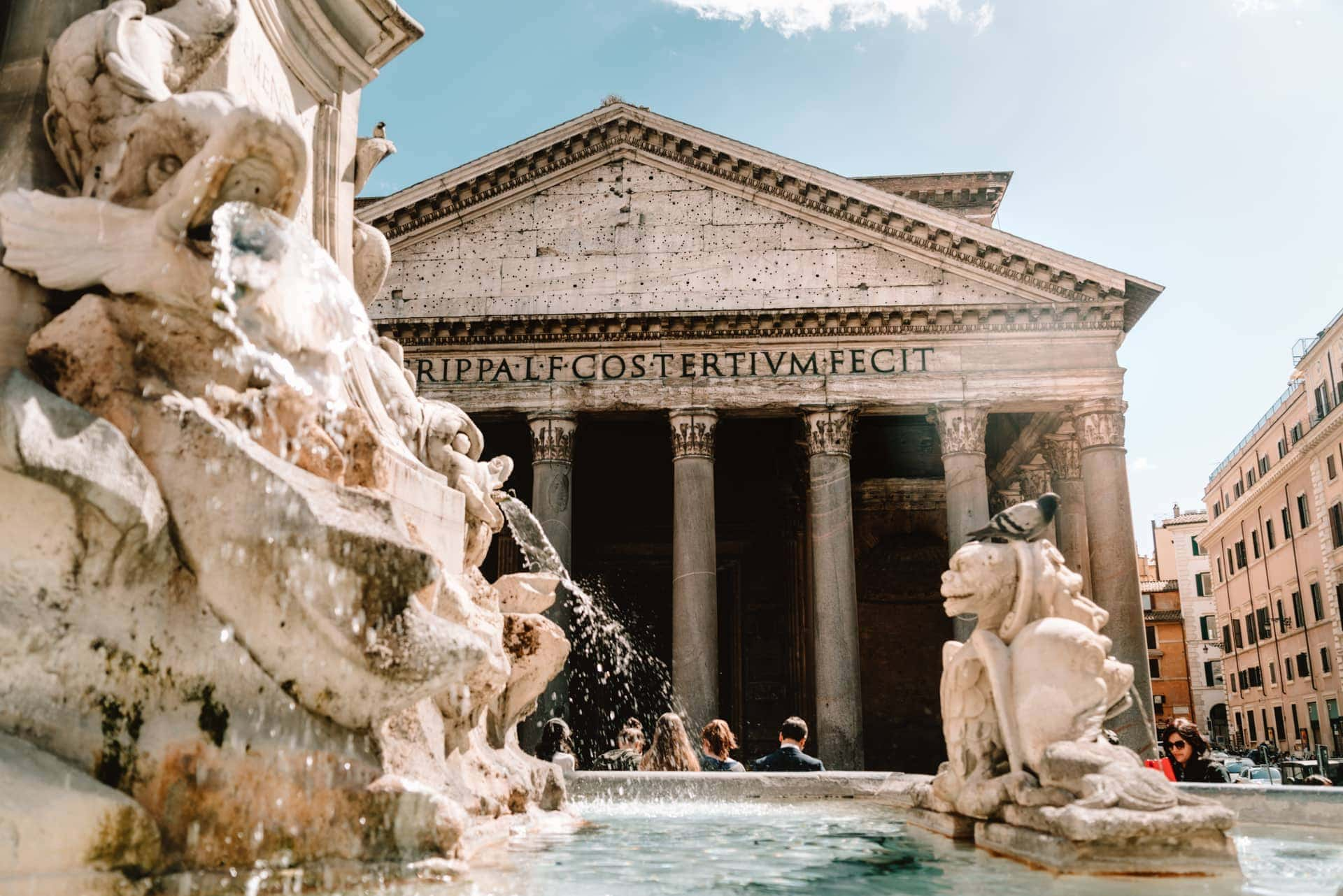 things to do rome italy pantheon
