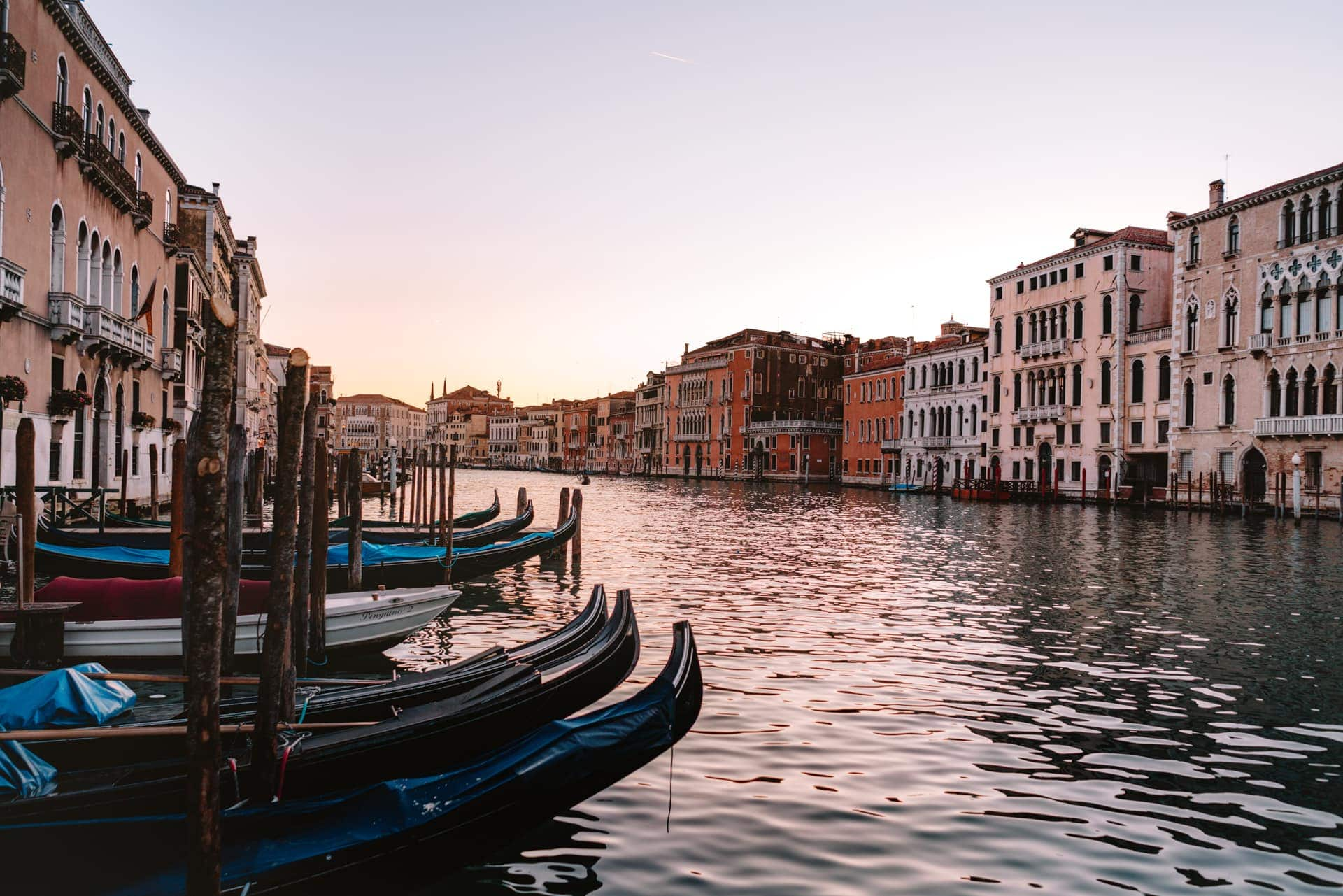 venice italy guide sunset