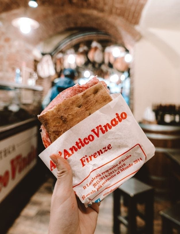 All Antico Vinaio sandwich florence