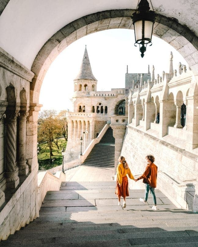 Budapest city guide Fishermans Bastion