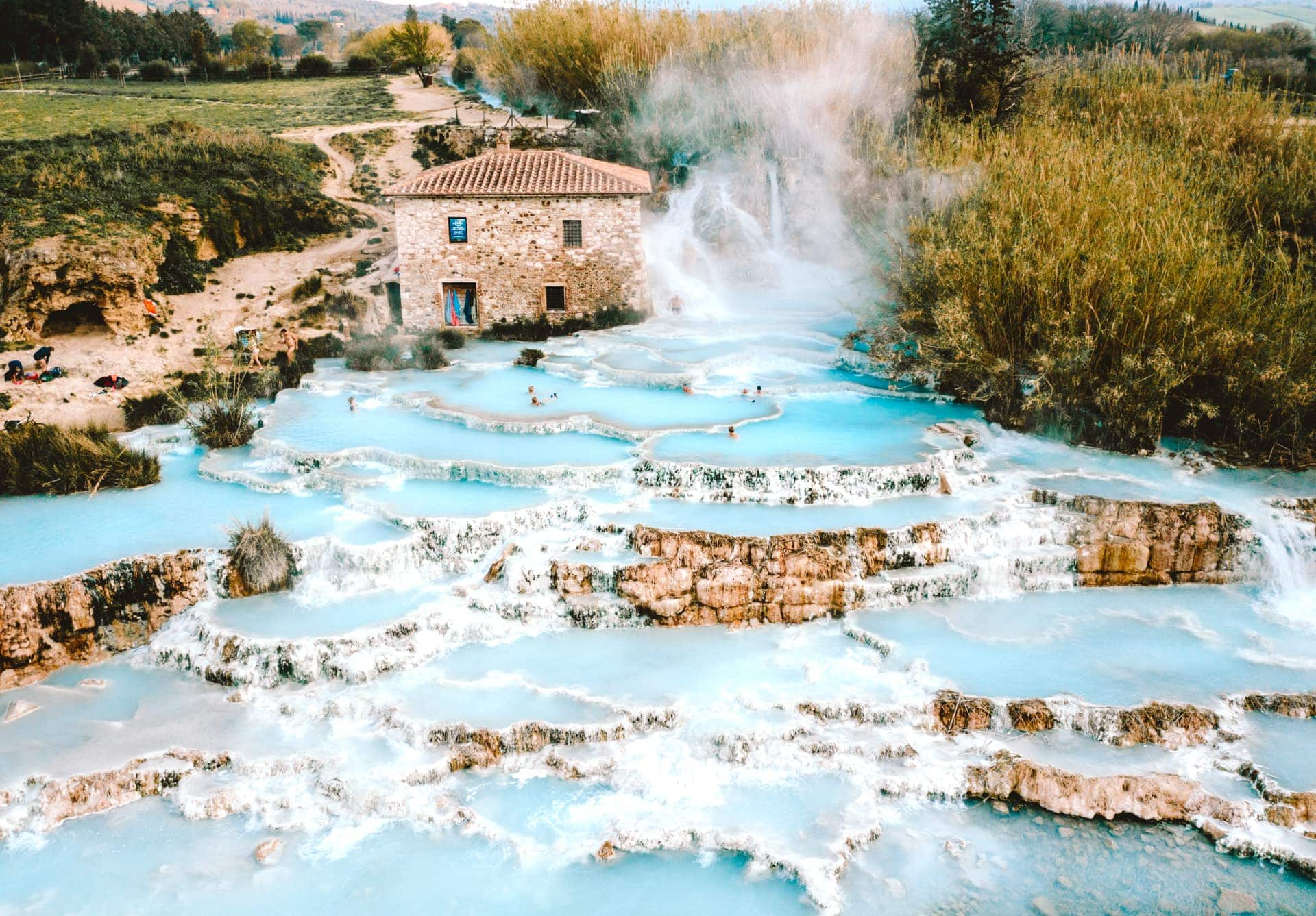 Hot Springs Tuscany Saturnia