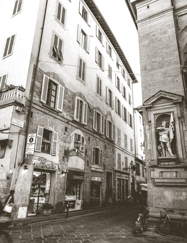 streets florence italy