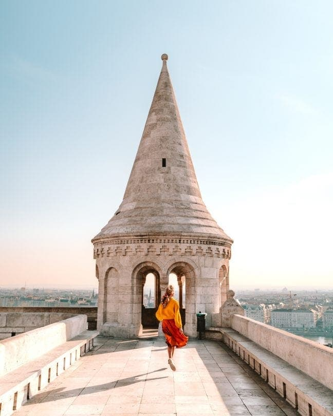 fishermans bastion tower budapest