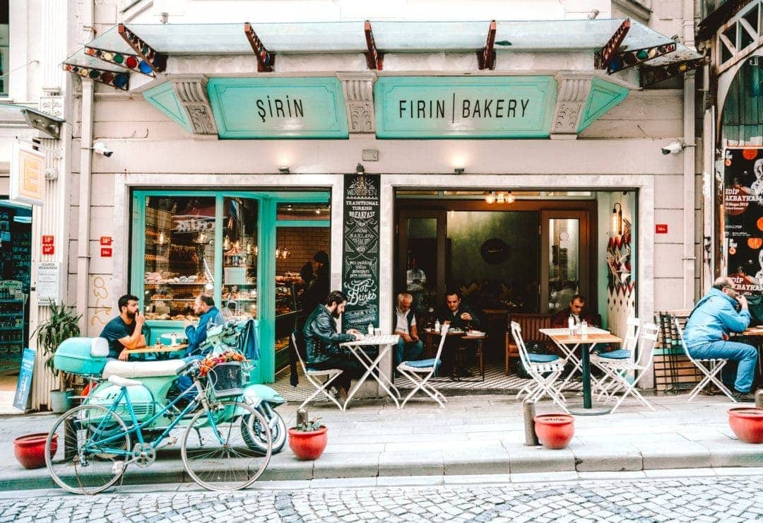 istanbul galata trendy cafe