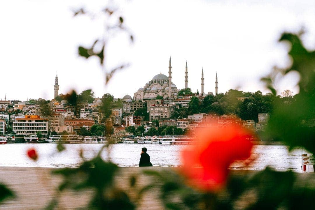 istanbul mosque view