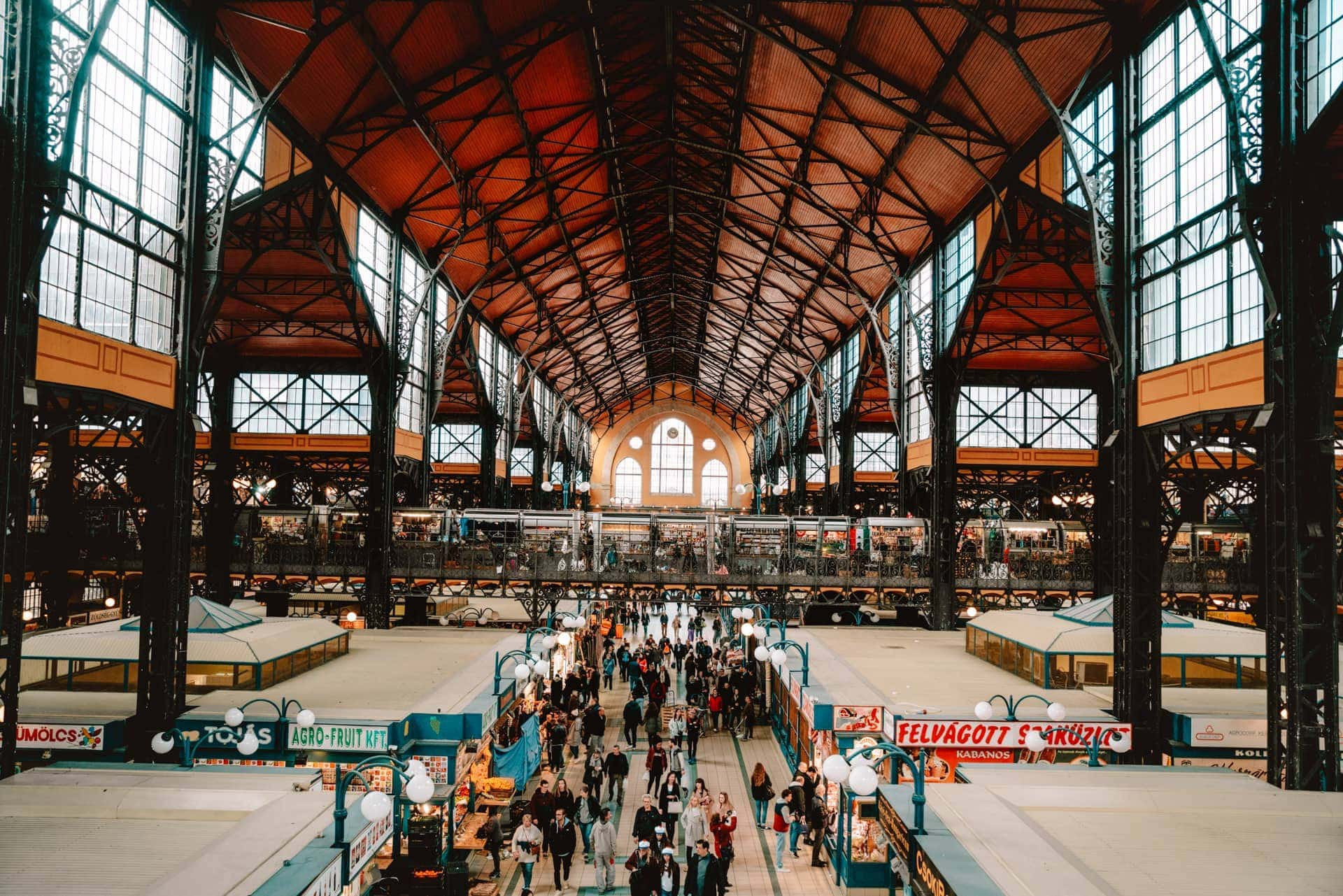 things to do budapest Great Market Hall